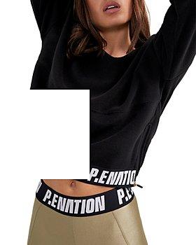 P.E NATION - Agility Cropped Sweatshirt