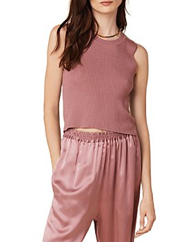 SABLYN - Angie Ribbed Cashmere Tank