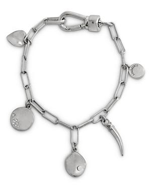 Allsaints Link Charm Bracelet