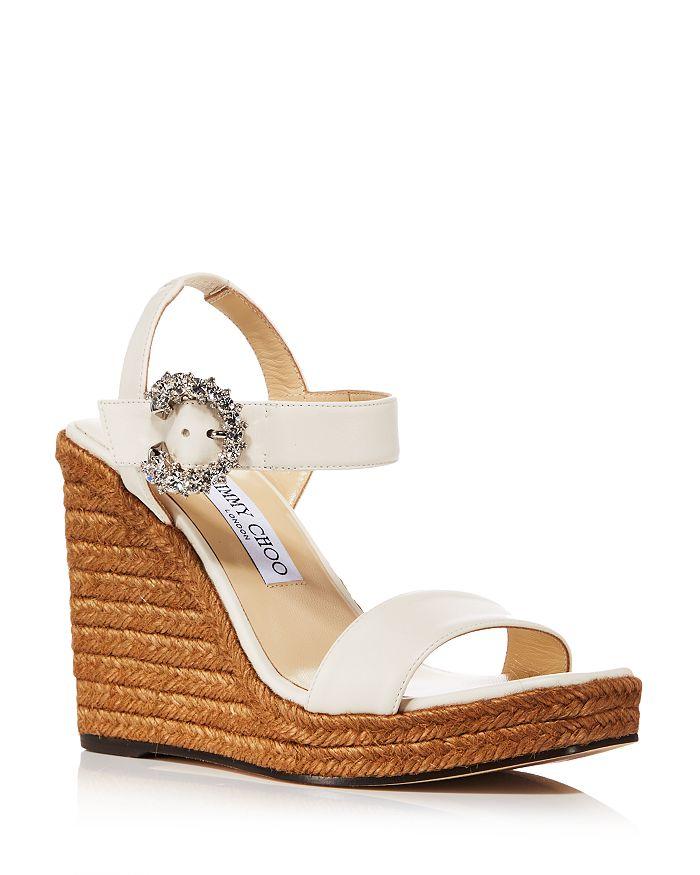 Jimmy Choo - Women's Mirabelle 110 Espadrille Wedge Heel Sandals