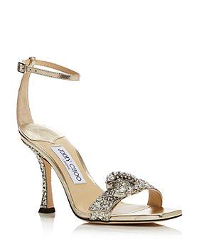 Jimmy Choo - Women's Marsai 90 Embellished High Heel Sandals