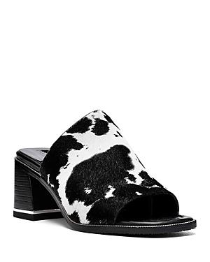 Women's Block Heel Mule Sandals