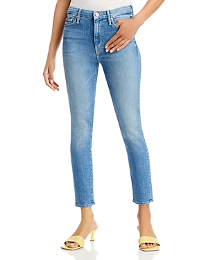 Mother The Looker Skinny Ankle Jeans in Independent