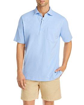 Sid Mashburn - Piqué Regular Fit Polo Shirt