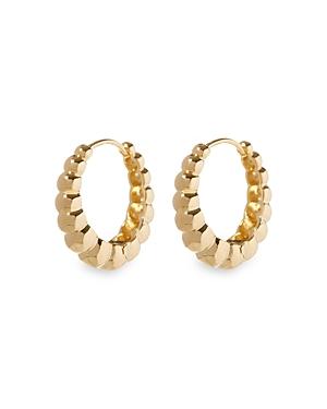 Bella Beaded Hoop Earrings