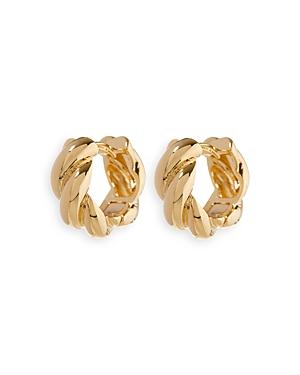Louise Twisted Hoop Earrings