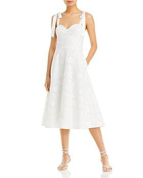 Aidan by Aidan Mattox - Lace Midi Dress