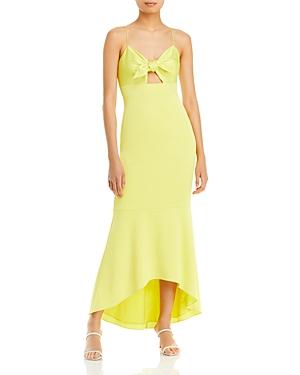 Tie Front Midi Dress