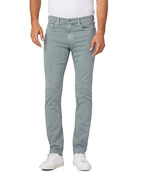 PAIGE - Lennox Slim Fit Jeans in Vintage Soft Algae