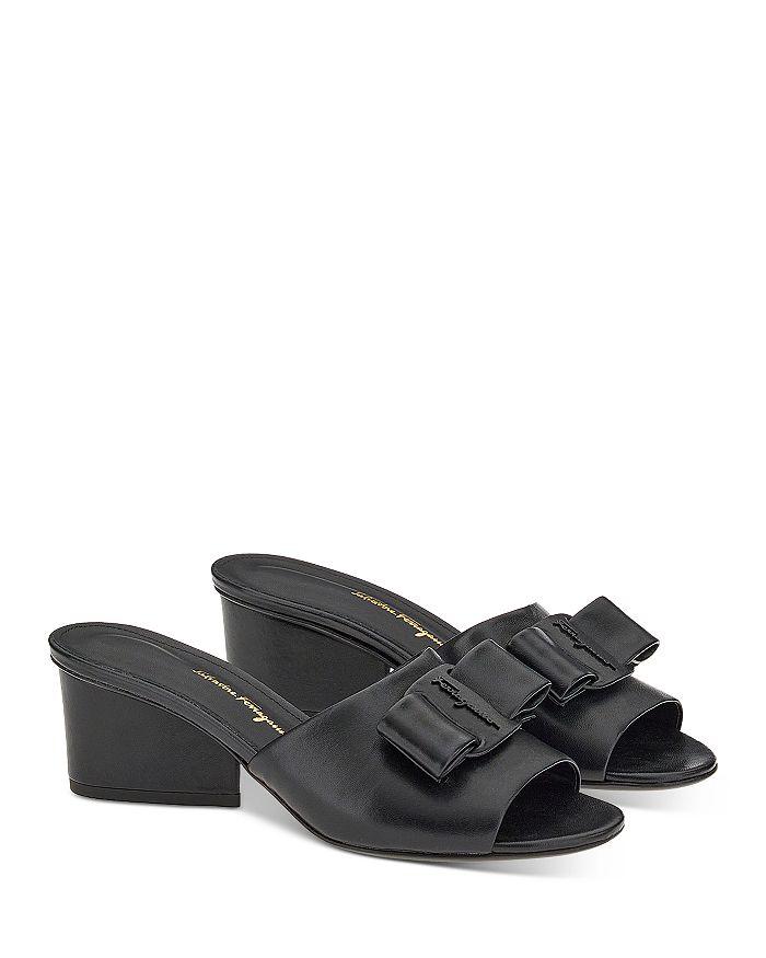 Salvatore Ferragamo - Women's Slip On Embellished Sandals