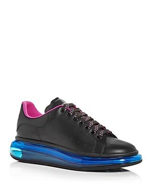 Alexander McQUEEN Men's Oversized Transparent Sole Sneakers