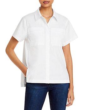 Theory - A-Line Button Down Shirt