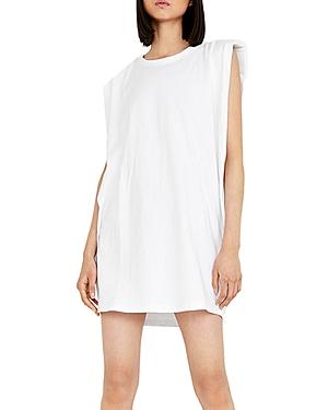 Shoulder Pad Mini Dress