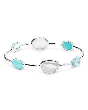 Ippolita Sterling Silver Rock Candy Luce Bangle Bracelet