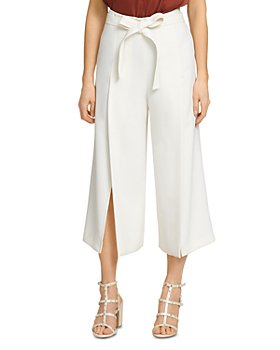 DKNY - Cropped Belted Pants