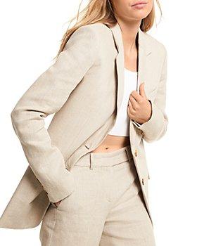MICHAEL Michael Kors - Long Linen Blazer