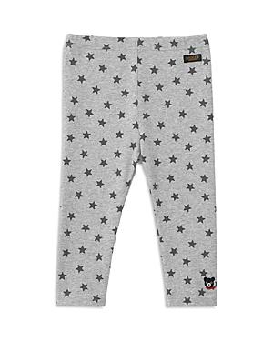 Miki House Unisex Double B Pants - Little Kid In Gray