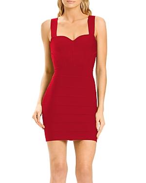 Herve Leger x Julia Restoin Roitfeld Sweetheart Corset Mini Dress