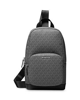 Michael Kors - Logo Print Commuter Sling Backpack
