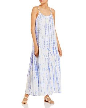 AQUA - Tie Dyed Maxi Dress - 100% Exclusive