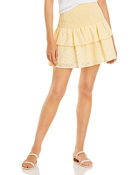 Lost and Wander - Sunset Soiree Smocked Mini Skirt