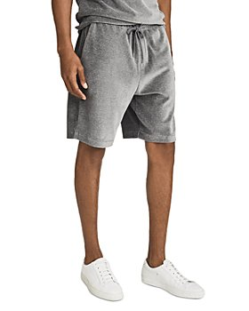 REISS - Alnmouth Velour Shorts