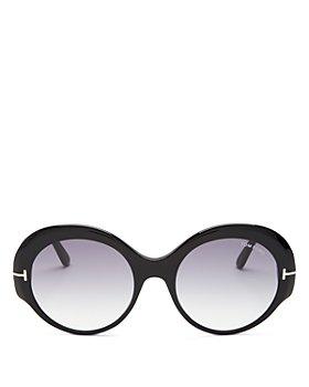 Tom Ford - Women's Round Sunglasses, 52mm