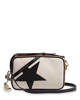 Golden Goose Deluxe Brand -  Suede & Linen Star Bag