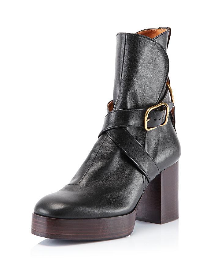 Chloé - Women's Izzie Platform Ankle Boots