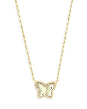 "Kendra Scott - Lillia Butterfly Pendant Necklace, 15"""