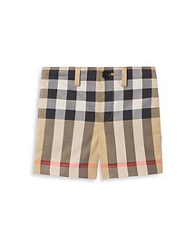 Burberry - Royston Checked Stretch Shorts - Baby