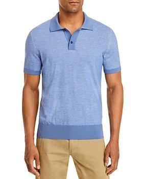 BOSS - Paggi Cotton Solid Regular Fit Polo Shirt