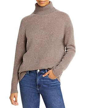 C by Bloomingdale's - Turtleneck Cashmere Tunic Sweater - 100% Exclusive