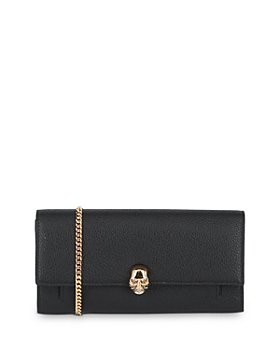 Alexander McQUEEN - Skull-Detail Leather Chain Wallet (40% off) – Comparable value $995