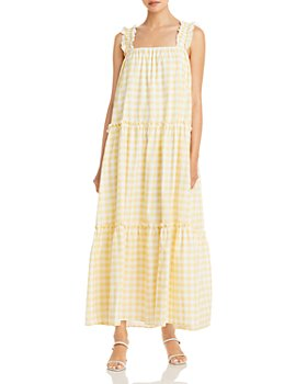 Charlie Holiday - Lottie Maxi Gingham Dress
