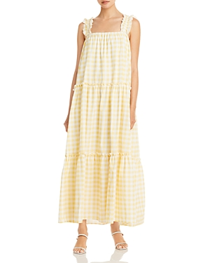 Lottie Maxi Gingham Dress