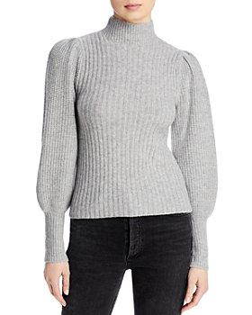 AQUA - Balloon Sleeve Sweater - 100% Exclusive