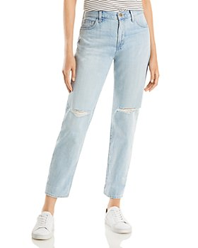 J Brand - Tate Ripped Jeans in Statis Destruct