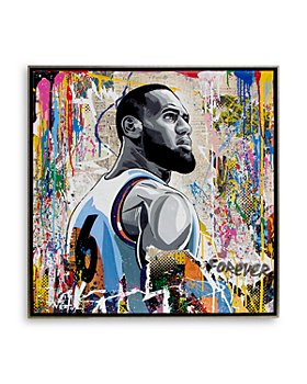 Mr. Brainwash - King James, The Great Oil Painting - 100% Exclusive