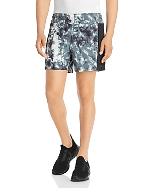 Abstract Print Bolt Athletic Shorts
