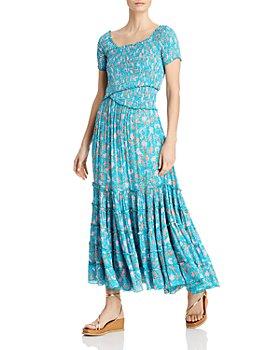 Poupette St. Barth - Soldedad Floral Print Tiered Dress