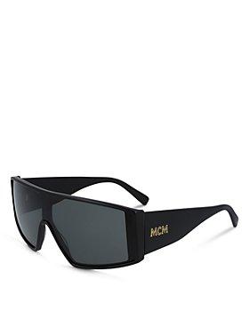 MCM - Unisex Wrap Shield Sunglasses, 57mm