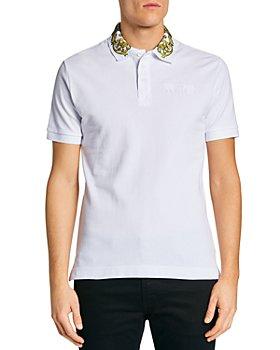 Versace Jeans Couture - Regalia Baroque Print Collar Slim Fit Polo