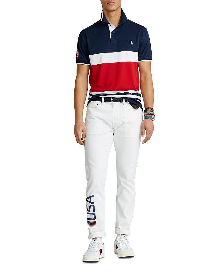 Polo Ralph Lauren - Team USA Stretch Mesh Polo Shirt & Closing Ceremony Sullivan Slim Fit Jeans