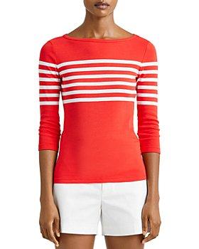 Ralph Lauren - Striped Boat Neck Sweater