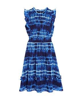 AQUA - Girls' Tie Dyed Midi Dress, Big Kid - 100% Exclusive