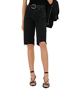 ba&sh - Brune Cutoff Denim Shorts