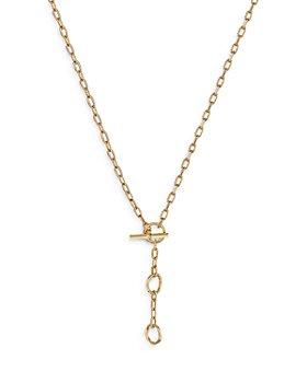 David Yurman - 18K Yellow Gold DY Madison® Three Ring Chain Necklace