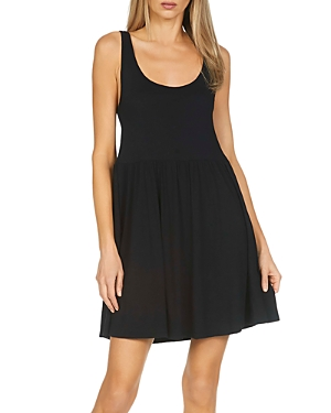 Stone Sleeveless Mini Dress