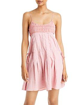 Rebecca Taylor - Pleated Lightweight Mini Dress